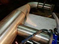 сварка трубы из нержавейки аргоном швы