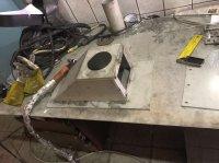 изделия из нержавеющей стали . стол
