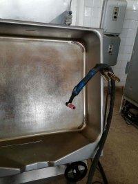 сварка цены ремонта нержавеющего оборудования (электро-сковорода, фритюр, плиты и т.п.)
