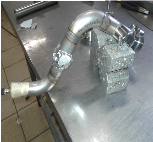 Прокладка труб из нержавеющей стали