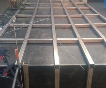 сварка сложной конструкции нержавейка метал аргоном алюминия